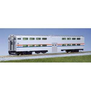 Kato HO Pullman Bi Level Cab Coach, Amtrak/Phase III Toys & Games
