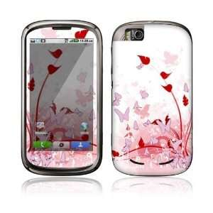 Pink Butterfly Fantasy Decorative Skin Decal Sticker for
