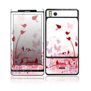 Pink Butterfly Fantasy Design Decorative Skin Cover Decal