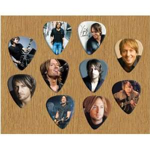 Keith Urban Loose Guitar Picks X 10 (Limited to 500 sets