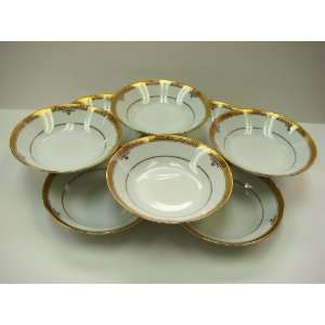 Noritake Fine China BUCKINGHAM GOLD #4346 FRUIT BOWLS