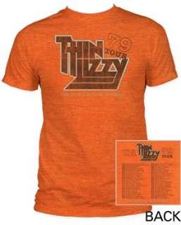 THIN LIZZY tour 79 Soft Fit T SHIRT S M L XL