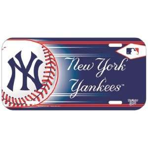 New York Yankees License Plate *SALE* Sports & Outdoors