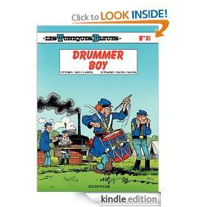 DRUMMER BOY (French Edition) Cauvin  Kindle Store