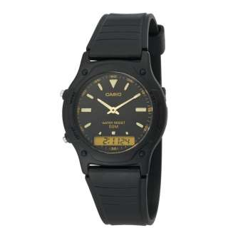 AW49HE 1AV Casio Mens Ana Digi Dual Time Watch