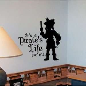Pirate Life   Yo Ho Yo Ho Vinyl Wall Decal Sticker Art