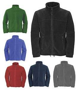 Zip Classic Fleece Jackets Sizes XS to 4XL SUITABLE FOR WORK & LEISURE