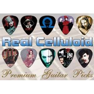 Marilyn Manson Premium Guitar Picks X 10 (C)