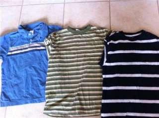 HUGE 43 PIECE BOYS SPRING SUMMER CLOTHES LOT SZ 7/8 BRAND NAMES