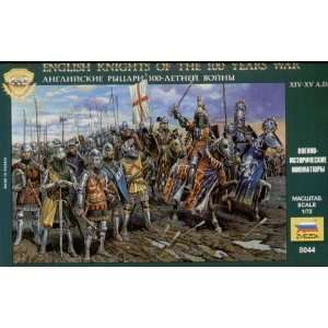 Knights (12 Mounted & 21 Foot Soldiers) 1 72 Zvezda: Toys & Games
