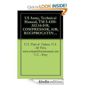 US Army, Technical Manual, TM 5 4310 352 14 HR, COMPRESSOR, AIR