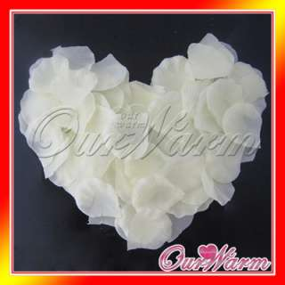 1000 Ivory Silk Rose Petal Flower Wedding Decor Colors