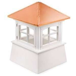 Cupola w/ Copper Rooftop  48 ft sq. 68 ft High: Patio, Lawn & Garden