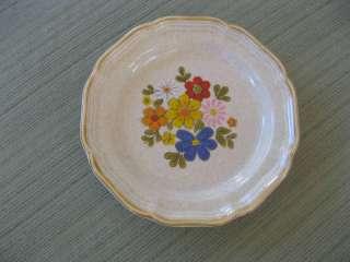 Mikasa Garden Club Spring Bouquet Salad Plate