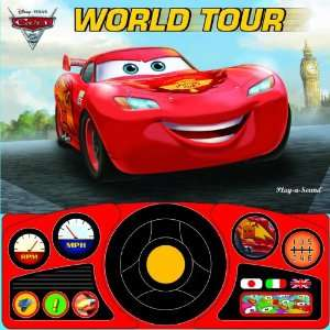 Disney Pixar Cars 2 World Tour Editors of Publications