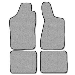 Audi 90 Series Plush Carpeted Custom Fit Floor Mats 4 PC Set   Mocha