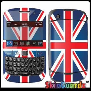 Union Jack Flag Vinyl Case Decal Skin To Cover BLACKBERRY CURVE 8520