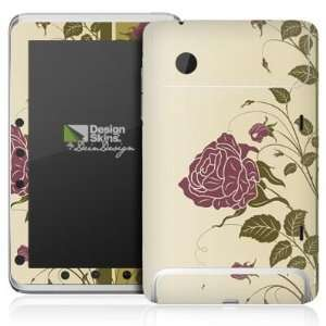 Design Skins for HTC Flyer   Blumengirlande Design Folie