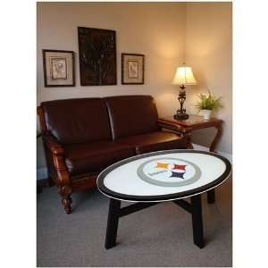 Pittsburgh Steelers Helmet Design Coffee Table