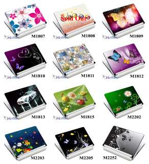 Laptop Notebook Skin Sticker Cover + Screen Protector