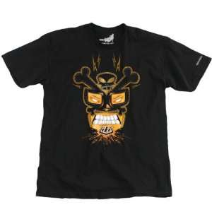 Lee Designs Lucha Mens Short Sleeve T Shirt Black Medium Automotive
