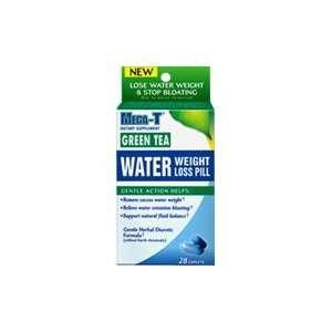 Green Tea Water Pill   28 ct