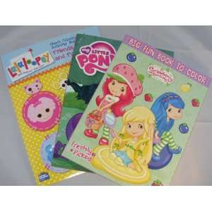 Lalaloopsy, My Little Pony, Strawberry Shortcake Coloring