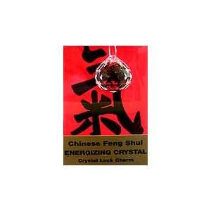 Chinese Feng Shui Energizing Crystal Lucky Charm