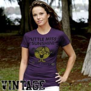 My U LSU Tigers Ladies Purple Little Miss Sunshine Logo