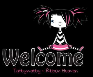 punk emo girl grosgrain ribbon you will love this heavenly ribbon
