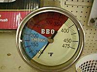 Large BBQ Pit Thermometer Smoker Grill