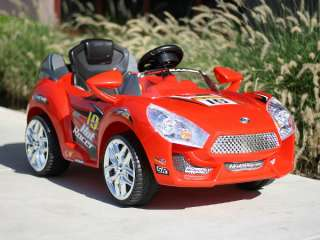 Kids Battery Power Ride On Car  & RC Remote Sport Wheels