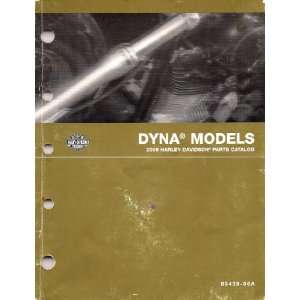2006 Official Harley Davidson Parts Catalogue Dyna Models