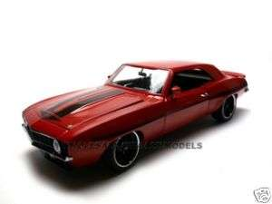 1969 YENKO CHEVY CAMARO RED 1:18 DIECAST CAR GMP 1of996
