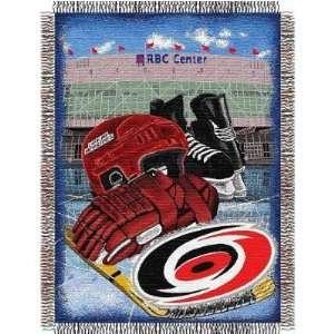 Carolina Hurricanes NHL Woven Tapestry Throw Blanket
