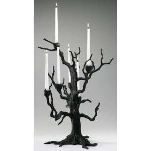 Iron Tree Candlelabra