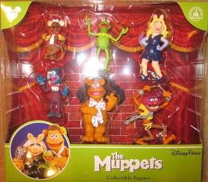 NEW The Muppets Collectible Figures Set Disney Park Exclusive Kermit