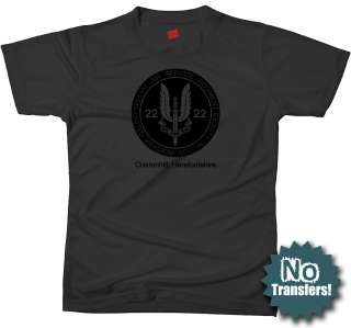 SAS #2 Special Air Service Ops Military New T shirt