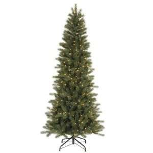 37 Blue Spruce Slim 350 Clear Lights Christmas Tree (C103466