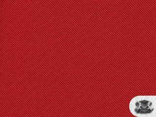 Waterproof RED Indoor/Outdoor Polyvinyl Fabric BTY