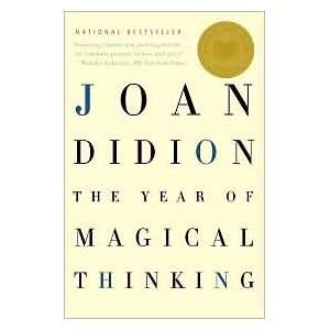 The Year of Magical Thinking by Joan Didion Books