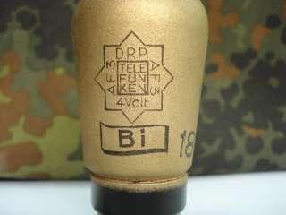 WWII 1939 GERMAN TELEFUNKEN RADIO GLASS TUBE AF3   DRP