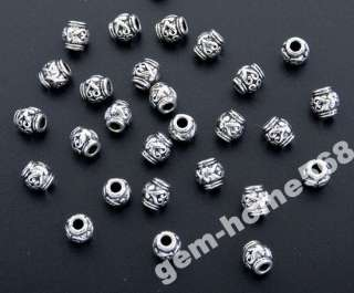 90 Tibetan Silver Heart Design Beads Spacer B004