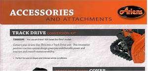 ARIENS TRACK DRIVE CONVERSION KIT 726005 72600500