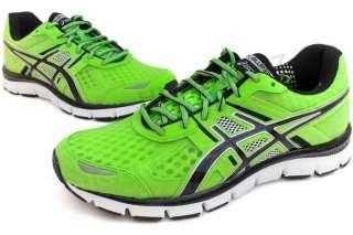 Asics Gel Blur33 T1H3N 7099 New Men Black Green Running Athletic