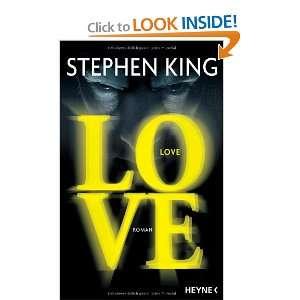 Love (9783453265325) Stephen King Books