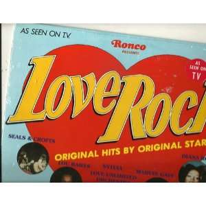 love rock LP VARIOUS Music