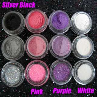 Eyeshadow Cosmetic Nail Art Glitter Decoration #027 White X1 USD1.99