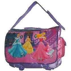 Disney Princess Pink and Purple Messenger Bag