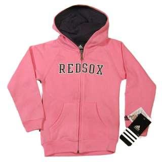 Boston Red Sox Girls Pink Hooded Hoody Sweatshirt